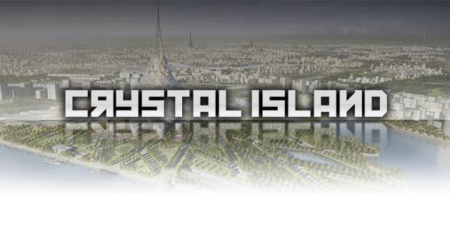 Crystal Island – Eine Stadt in einem Gebäude