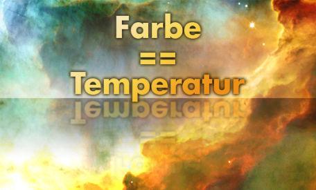 Farbe – ein anderes Wort für Temperatur