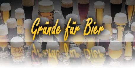 Gründe für Bier