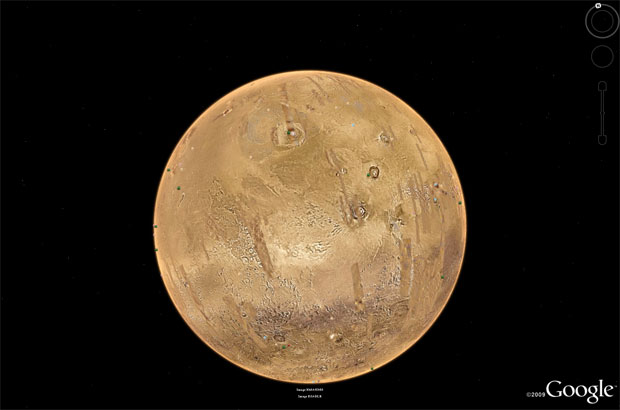 Google Earth: Mars