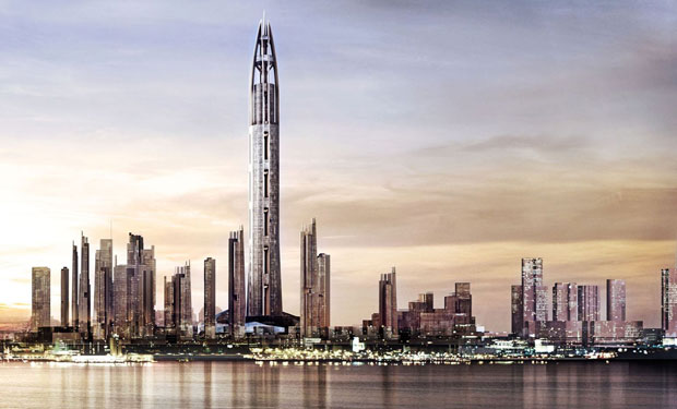 Nakheel Tower in Dubai