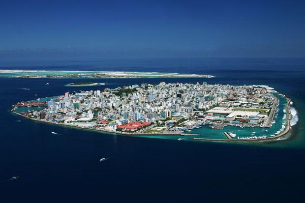 Malé auf den Malediven