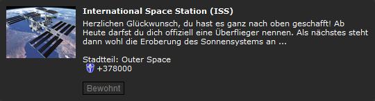 Pennergame Eigenheim ISS