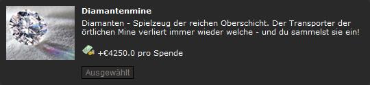Pennergame Schnorrplatz Diamantenmine