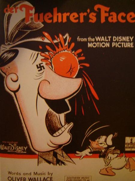 Walt Disney: Donald Duck - Der Fuehrers Face