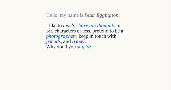 Peter Eggington