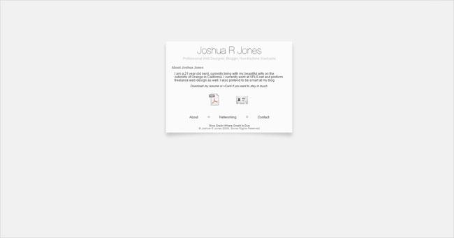 Joshua R Jones