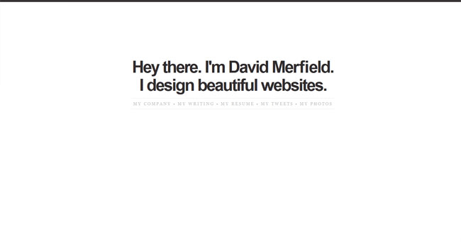 David Merfield