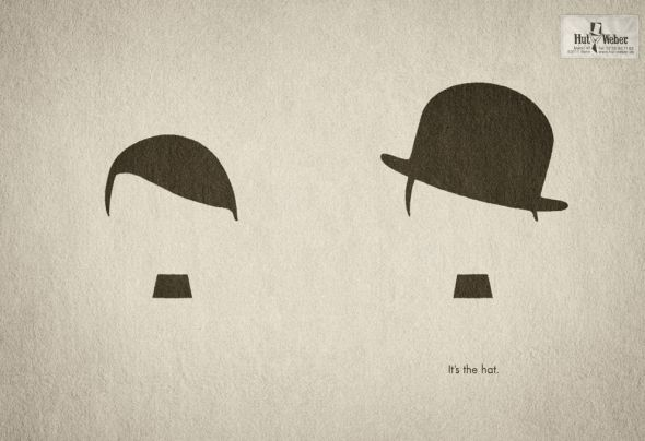 Hut Weber: Hitler or Chaplin? – It's the hat