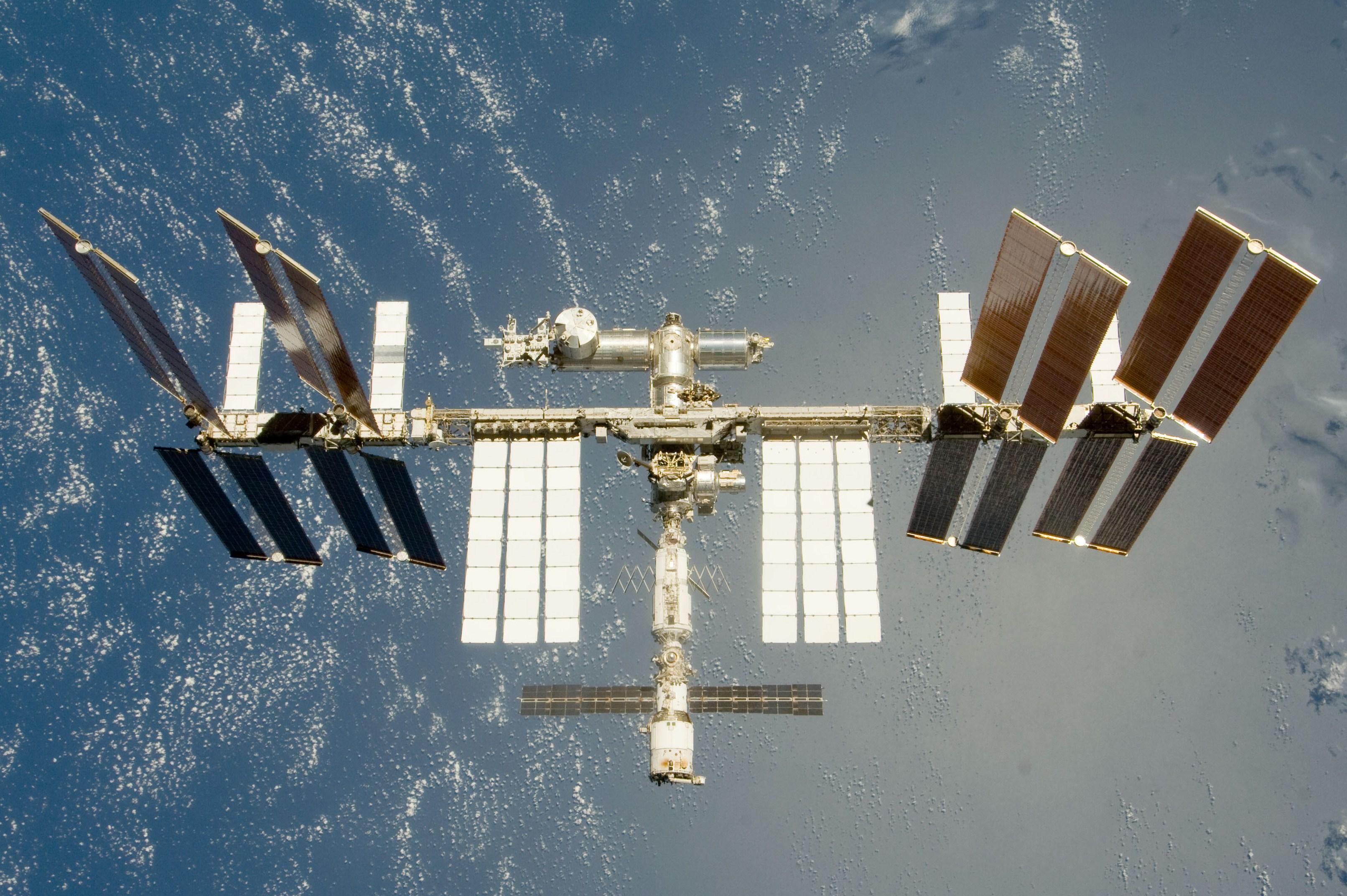 Die ISS im Juli 2009