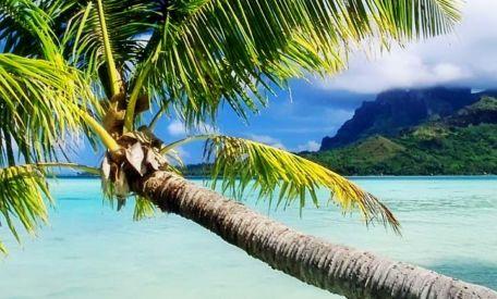 Urlaubsflirting mal anders: Bora Bora