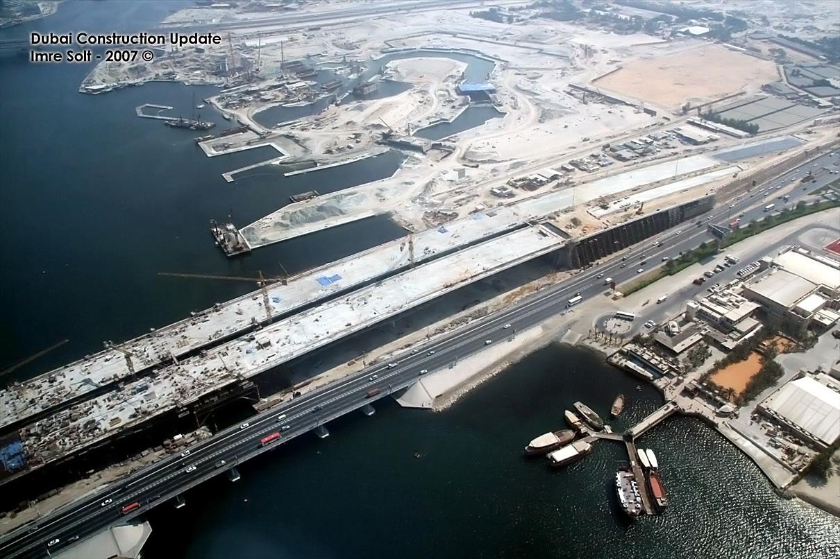 Baustelle in Dubai