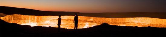 Das Tor zur Hölle in Turkmenistan - Foto: johnhbradley.com
