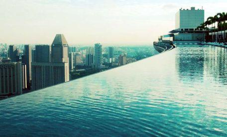 Außergewöhnliche Architektur: Marina Bay Sands Singapur