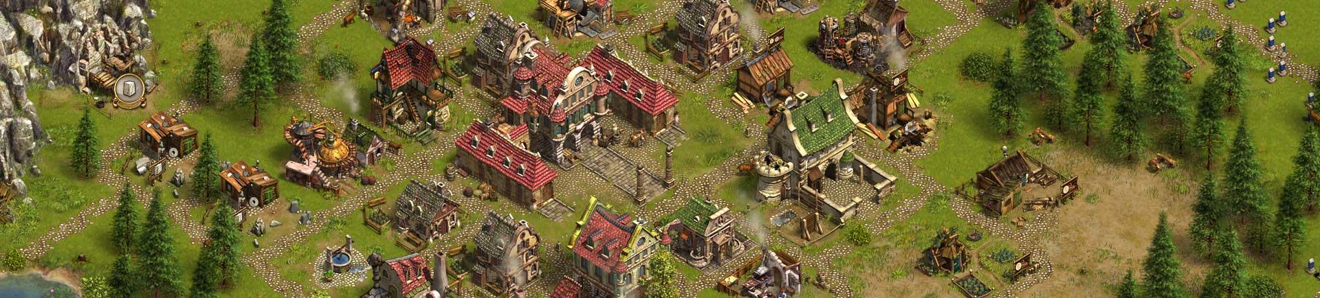 Die Siedler Online – kostenloses Browsergame von Ubisoft & Blue Byte