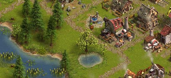 Die Siedler Online - Dorfimpressionen