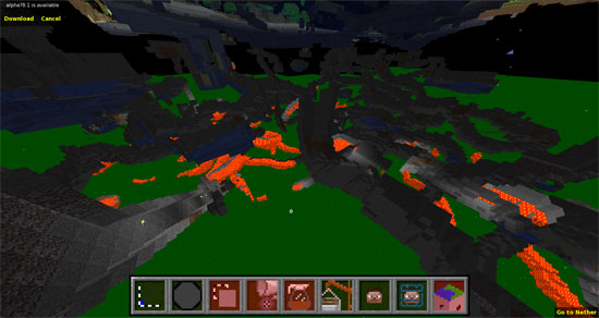 Die verzweigten Höhlensysteme unter der Erdoberfläche von Minecraft wissen zu beeindrucken.