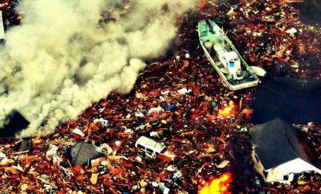Erdbeben & Tsunami in Japan: Vorher-nachher Satellitenbilder