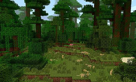 Minecraft 1.2 – Dschungel und Bauhöhe auf 256 Blöcke