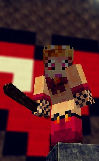 Minecraft: Krony mit Muschi - nackt :)