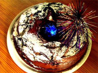Schaut nicht so aus, aber schmeckt formidabel: Marmorkuchen à la Krony :)