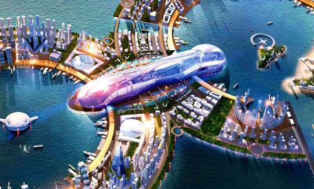 Planstadt für Touristen: 8City in Südkorea