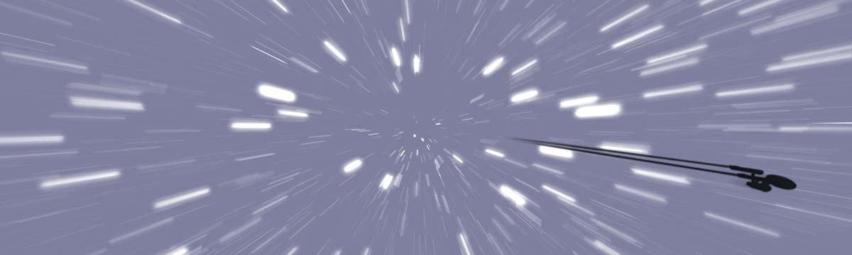 Wie schnell bewegen wir uns durch das Universum?