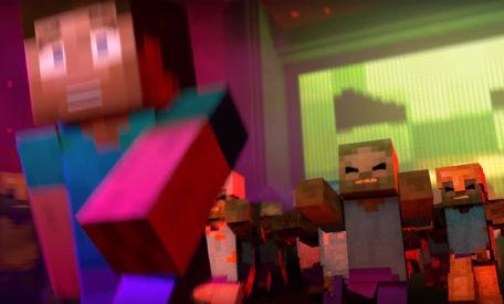Minecraft: I'm A Zombie-Rap