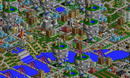 SimCity 2000 remix: Tax & Money + Dawn of the City = SimCity.wave II